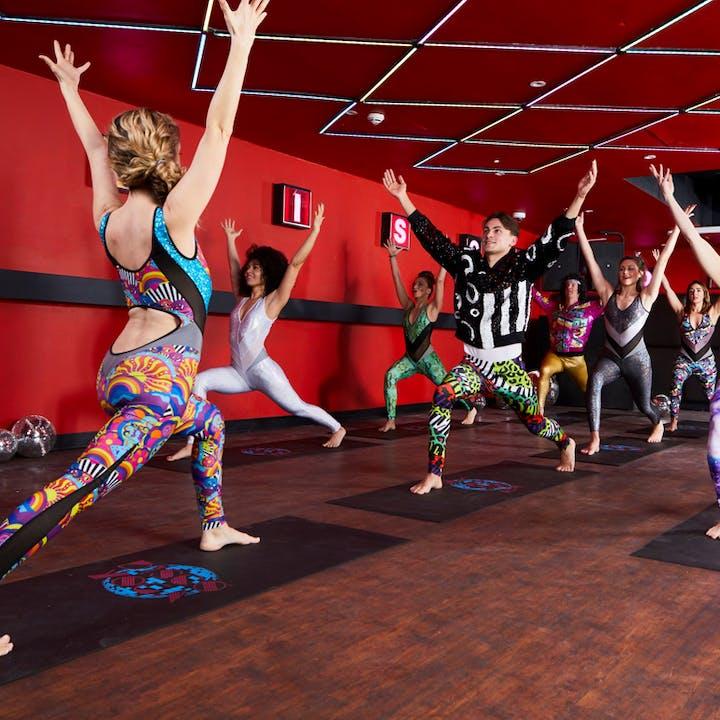 Disco Yoga Goes Online