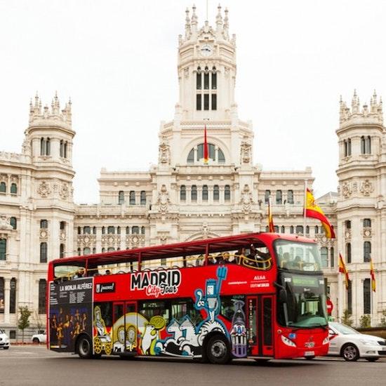 Hop on-Hop off: ¡lo mejor de Madrid en bus!