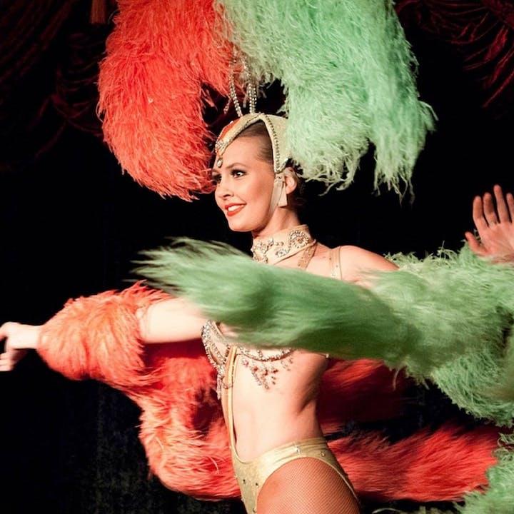 Cabaret La Belle Rose Dinner & Show for 2 at The Magician's Cabaret