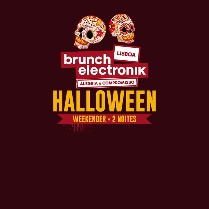 Brunch Electronik Halloween no Pavilhão Carlos Lopes
