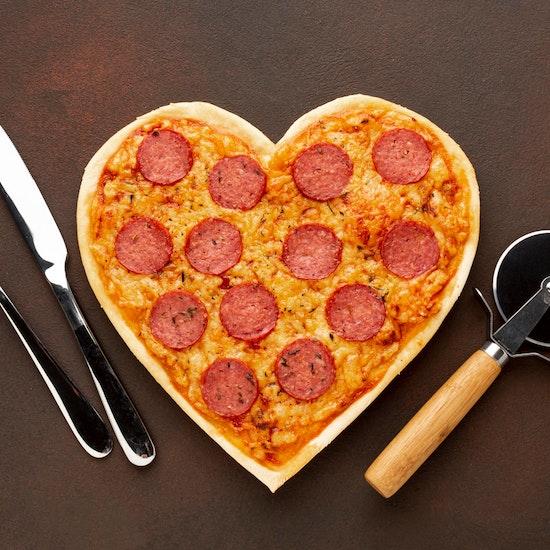 Pizzart: menú San Valentín para 2