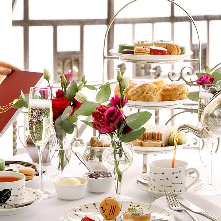 Romeo & Juliet Afternoon Tea at Swan at the Globe