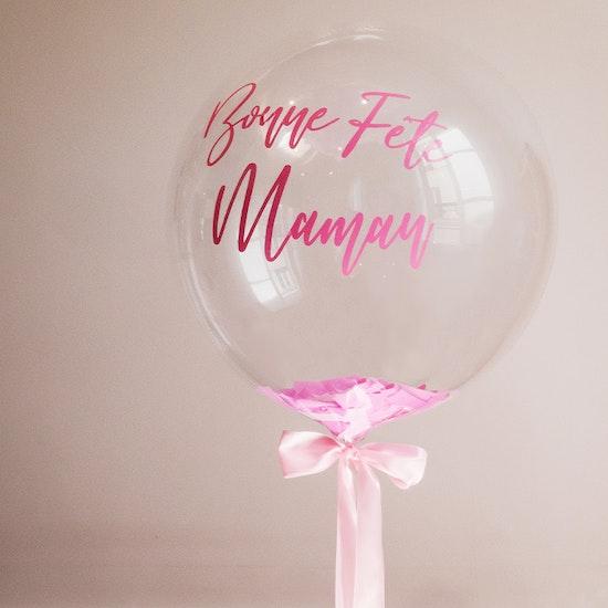 Fête des Mères : Ballon personnalisé et box gourmande !