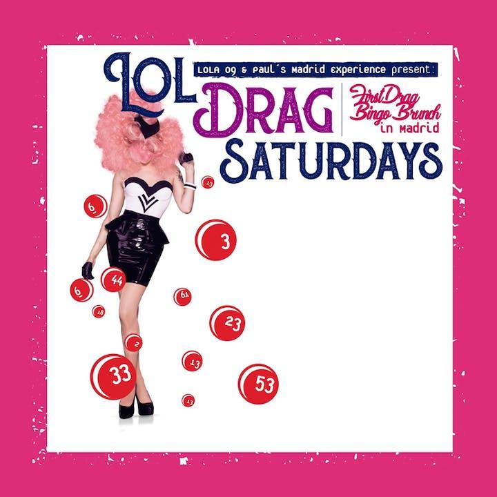 Drag Saturdays en Lola 09: brunch, bingo y drag queens