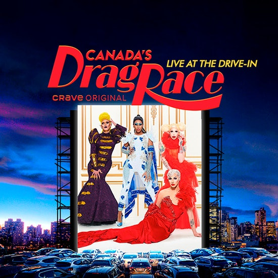 Canada's Drag Race, Show en live au Drive-In Montréal