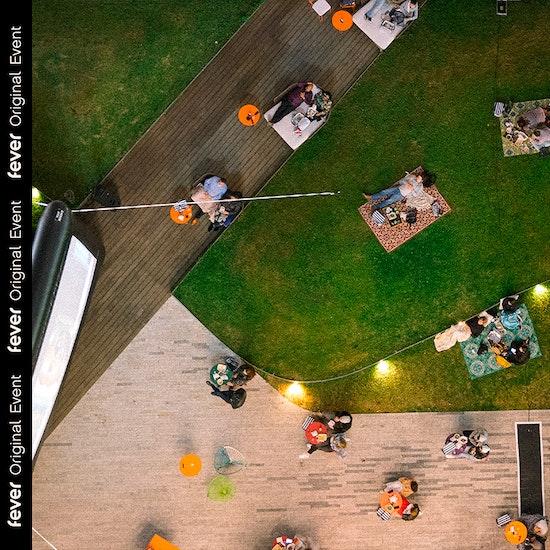 Open Air Dinner & A Movie Premiere by Shudder