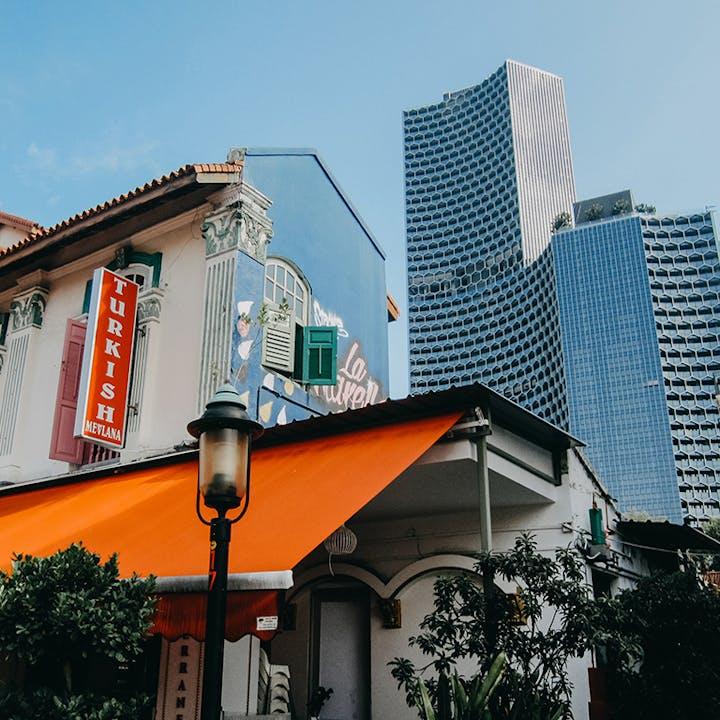 Singapore City Center Exploration Game