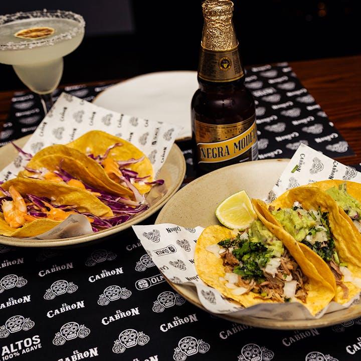 El Cabron: Jantar mexicano para 2 pessoas
