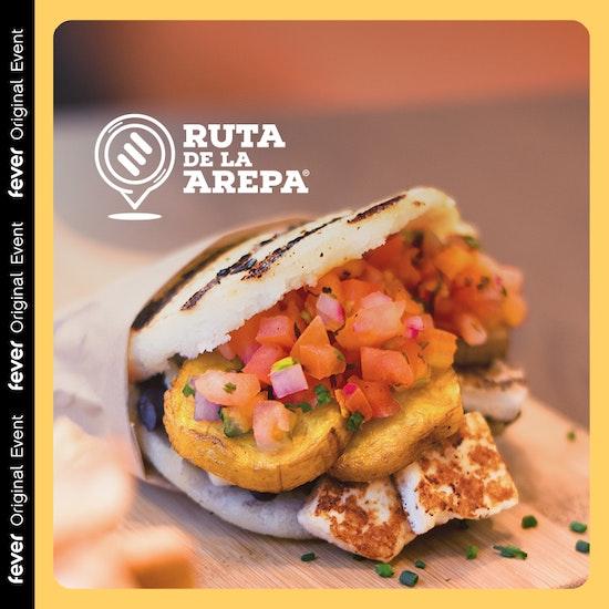 Guasa': Arepa gourmet + bebida en Ruta de la Arepa