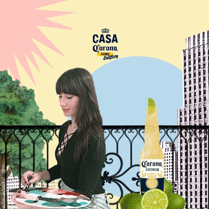 Casa Corona Home Edition: Customización con Alabama Banana