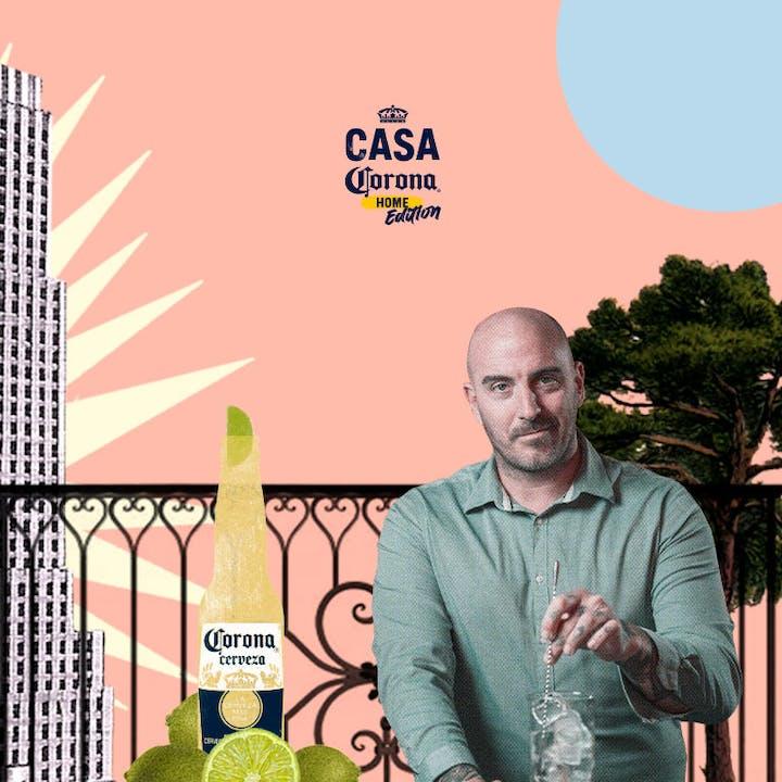 Casa Corona Home Edition: Masterclass de cocktelería con Luis Inchaurraga
