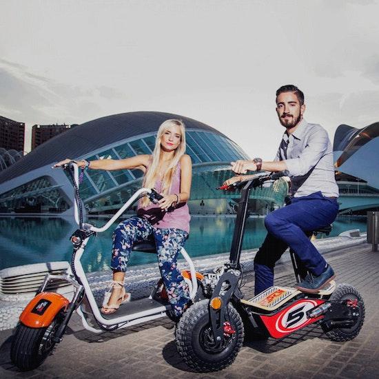 Ruta en patinete eléctrico, ¡Valencia en 2 ruedas!