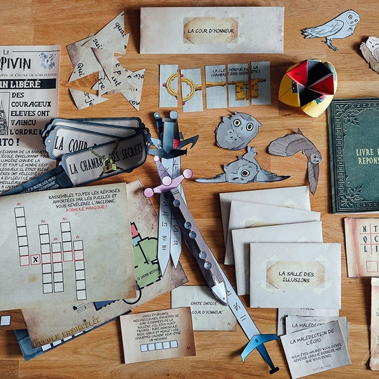 Escape Kit: ¡tu escape room en casa!