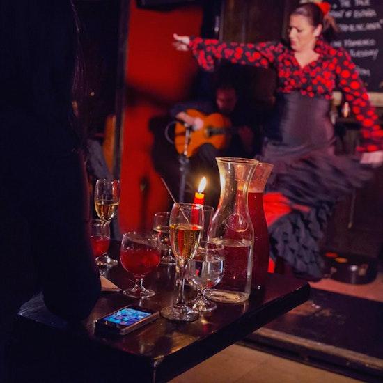 Tapas, Sangria and a Flamenco Show for Two