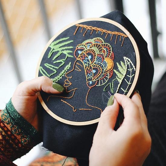 Curso online de bordado