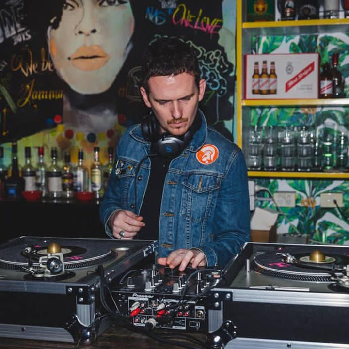 Sunday Live Vinyl Sessions with Caribbean Dinner at Rosie Campbell's