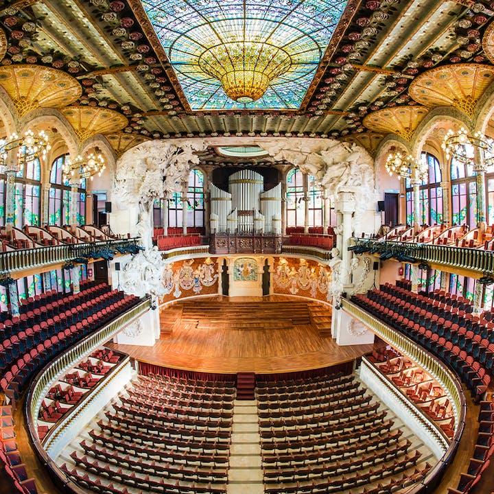 Visita libre al Palau de la Música Catalana