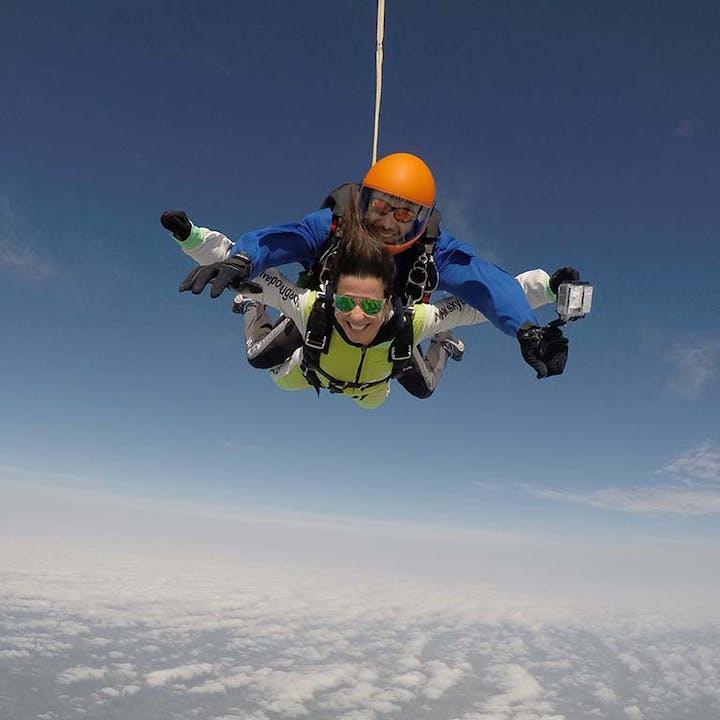 Salto Tandem: vive a adrenalina máxima!