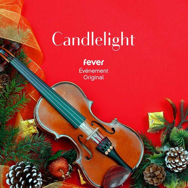 Candlelight Noël : Trio à cordes à la lueur des bougies