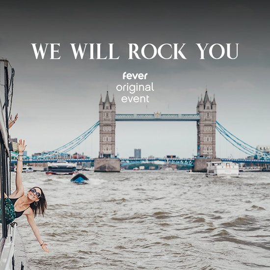 We Will Rock You! Queen Boat Party