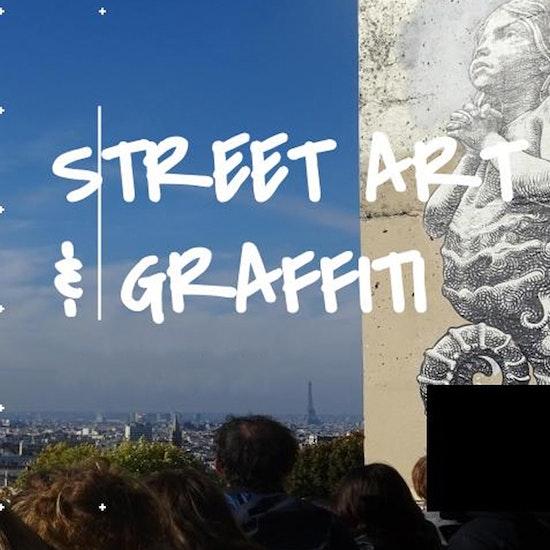 Visite virtuelle guidée : Graffiti à Belleville-Ménilmontant