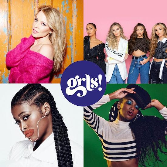 Festival GRLS! com Kylie Minogue, Little Mix, IZA e mais!