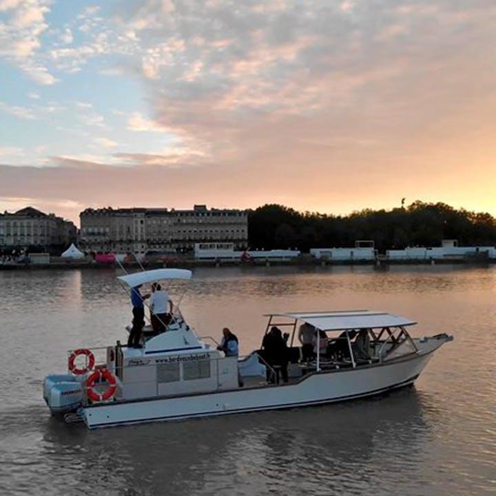 Croisière au fil du vin sur la Garonne