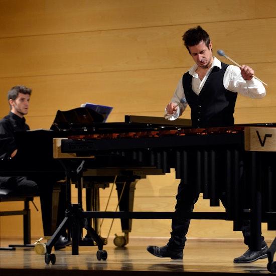 ¡Conciertazo de marimba y piano en Convent Carmen!