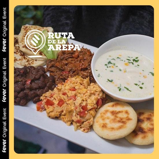 Grama Lounge: Brunch arepero o Arepa street en Ruta de la Arepa