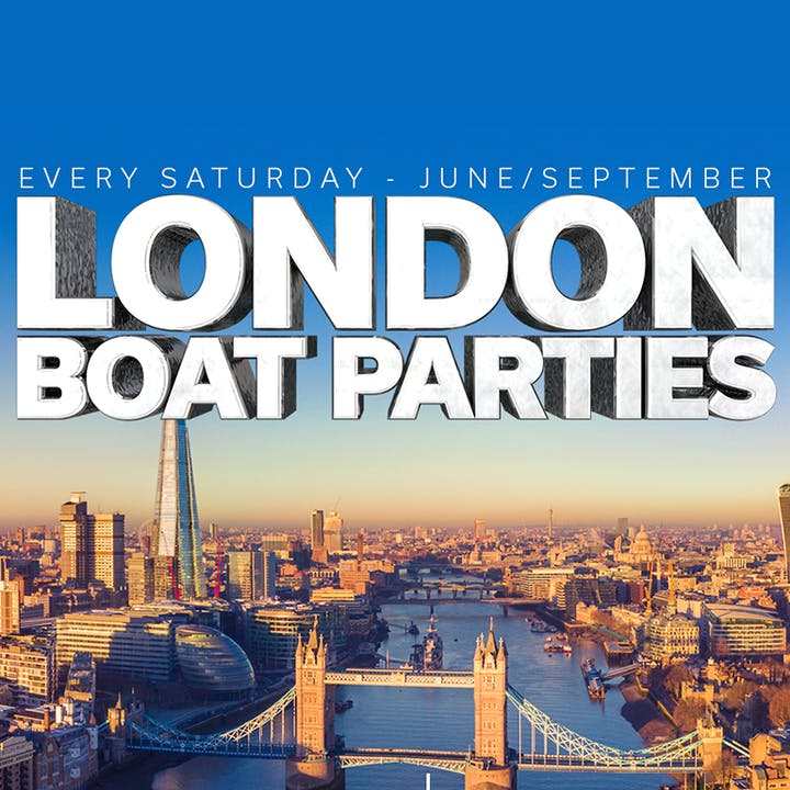 London Boat Party with FREE After Party