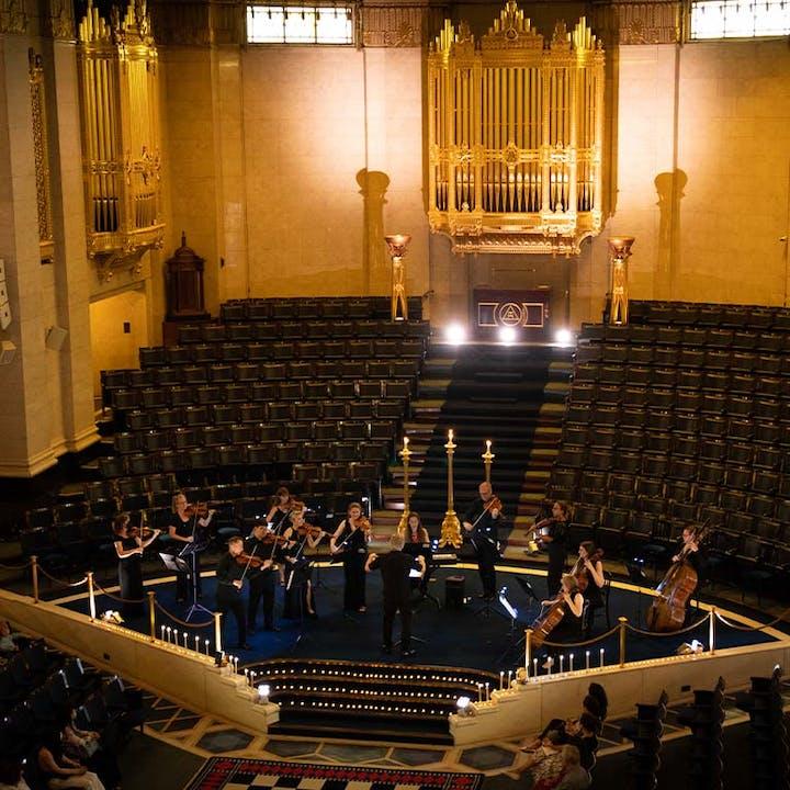 Vivaldi's Four Seasons by Candlelight at Freemason's Hall