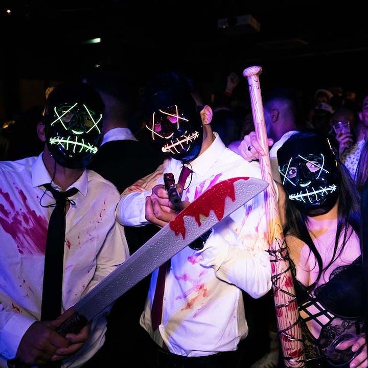 Halloween FreakShow: noite technorripilante no LAV