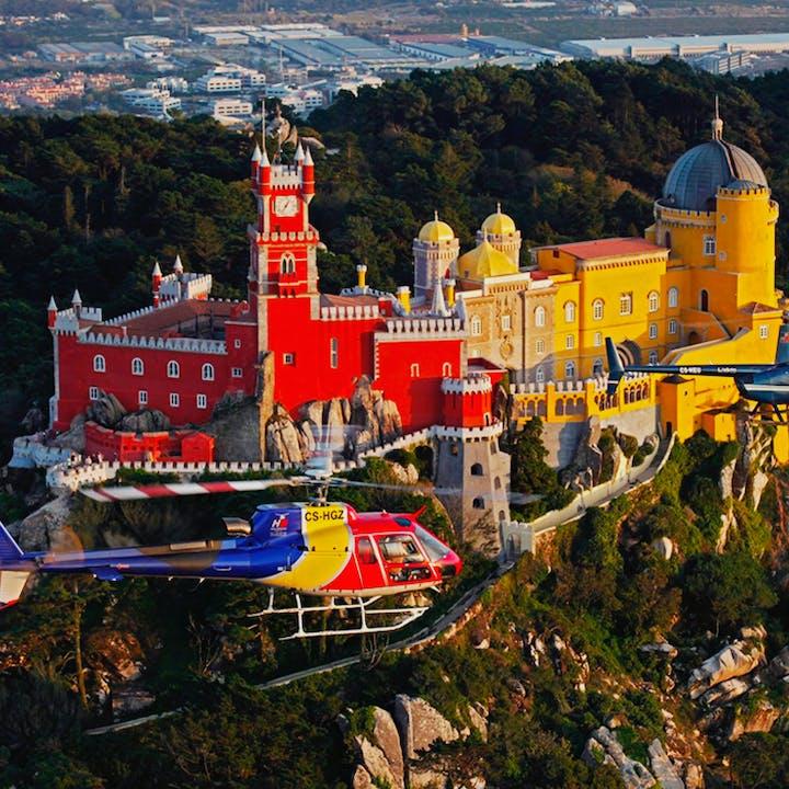 Voa sobre Lisboa num helicóptero!