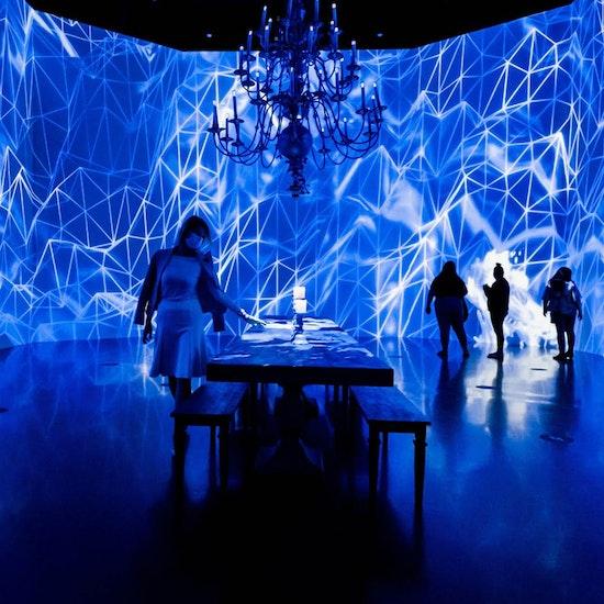 Crystalline at Artechouse! An Immersive Digital Art Experience