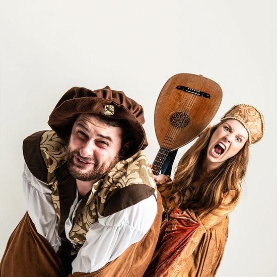 Shhh-faced Shakespeare®: The Taming of the Shrew