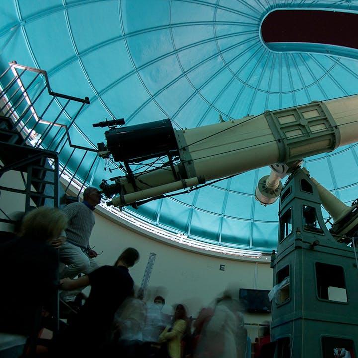 Visita nocturna en el Observatorio Fabra