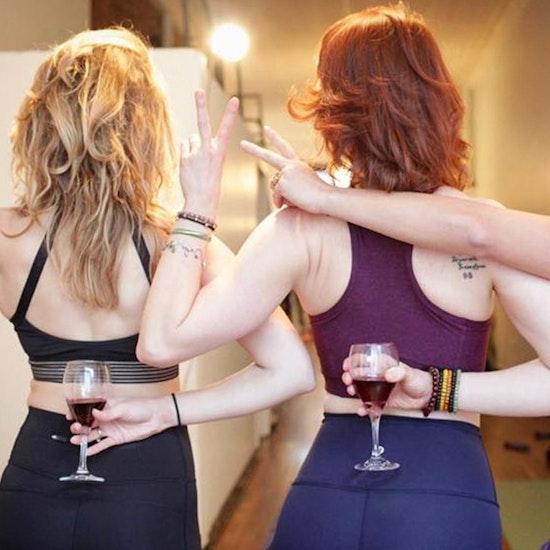 Drunk Yoga's 'Hair of the Downdog Yoga' at Broken Shaker