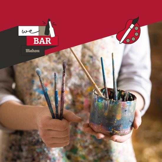 Cerveza con arte: saca tu lado más creativo en Madrid - We Bar Mahou