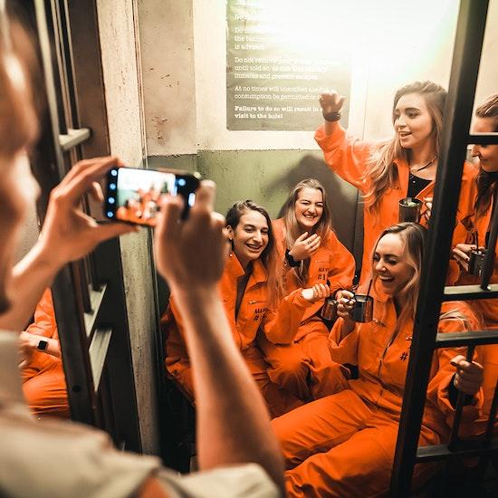 Alcotraz Prison Cocktail Bar - Manchester
