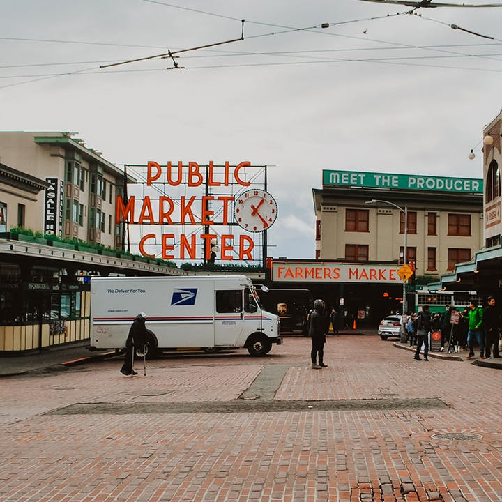 Historical Downtown of Seattle Exploration Game
