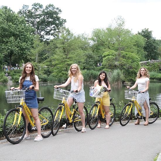 Bike Through Central Park