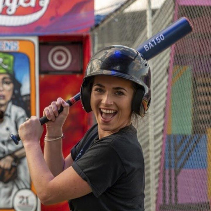 Sluggers Baseball Batting Cage and Cocktail
