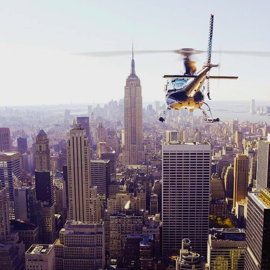 Scenic Helicopter Ride Over NYC!