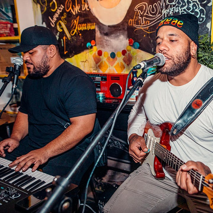 Wednesday Jamaican Live Acoustic Sesh with 6 Course Dinner at Rosie Campbell's