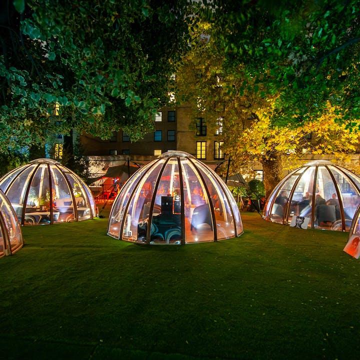 Private Dome at The Secret Garden