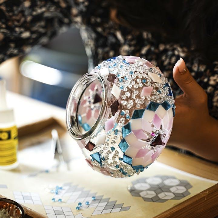 Turkish Mosaic Lamp Workshop