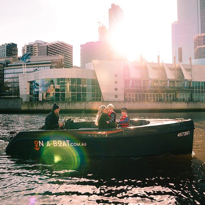Skipper Yourself Deluxe Boat Rental