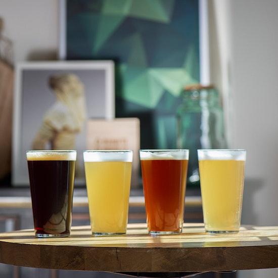 2 pintas de cerveza en El Sainete