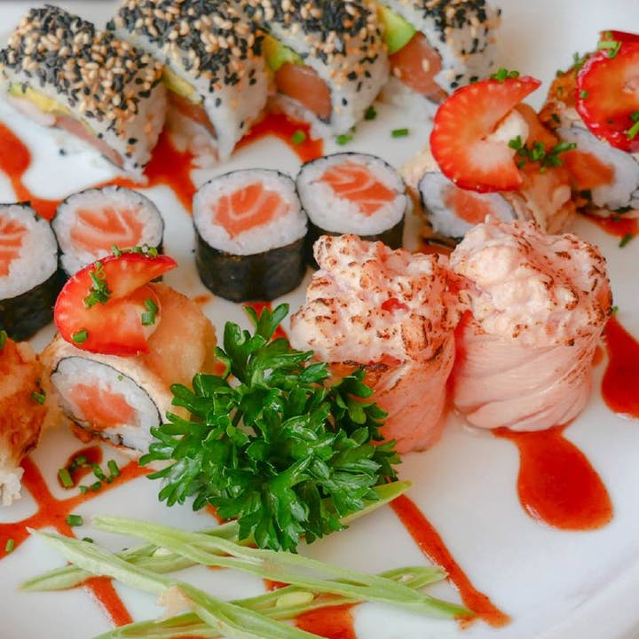 Menu para 2 pessoas no Edo Sushi do Parque das Nações