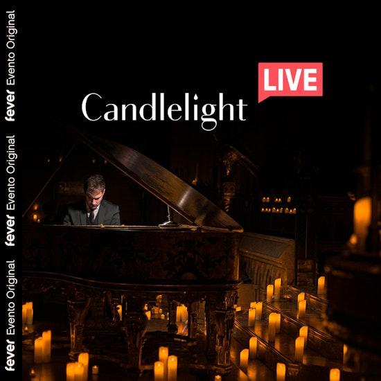 Candlelight Live Premium: Tributo a Ludovico Einaudi bajo la luz de las velas... ¡desde casa!